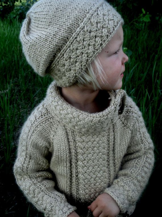 KNITTING PATTERN PDF sweater  Knit pattern sweater  Baby