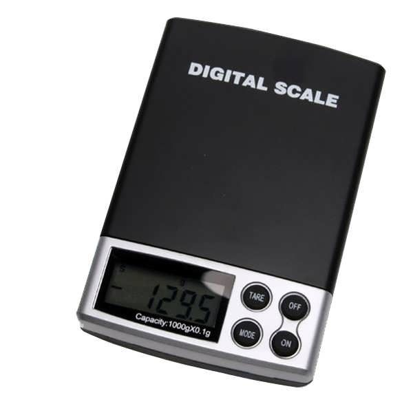 Feature:  Digital Weight Scale with professional stainless steal salver and backlight LCD display, simple operation and easy to read  Automatic alarm by low battery  New generic Digital Pocket Scale, 2lb Black    Specification parameter:  Power control: Auto power off after 1...