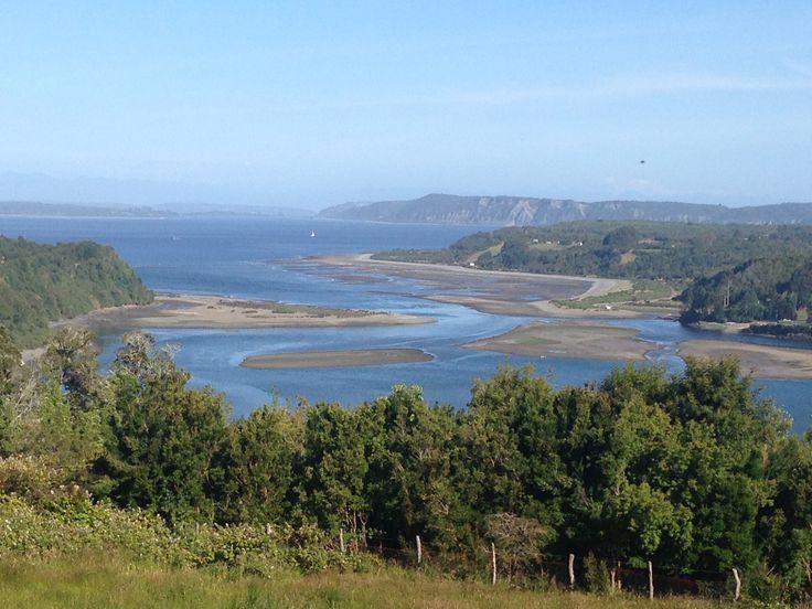 Desembocadura río Colo, Chiloé