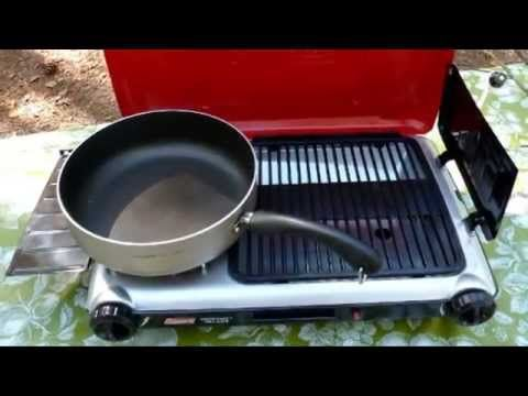 For more detailed reviews, visit : http://www.smallgasgrillreviews.com/coleman-perfectflow-instastart-grill-stove/