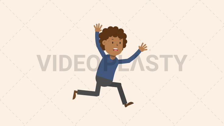 Download: http://ift.tt/2sWIu71  A black man with curly hair is running scared with his hands up in the a  Two version are included: normal (with a start animation) and loopable. The normal version can be extended with the loopable version  Clip Length:10 seconds Loopable: Yes Alpha Channel: Yes Resolution:FullHD Format: Quicktime MOV  For more royalty free video assets visit: https://videoplasty.com