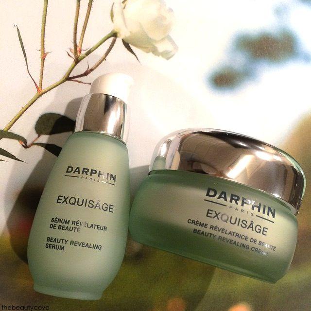 DARPHIN - EXQUISAGE odell'armonia interiore. la nuova linea skincare Exquisage di Darphin. Siero e crema rivelatori di una bellezza intensa e luminosa senza età. Presto su thebeautycove