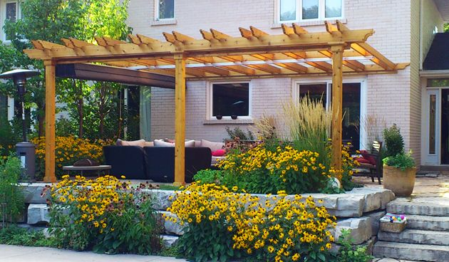attached pergola pictures   This entry was posted on March 30, 2013 by Ashley C .