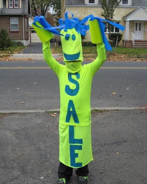 1015 best halloween images on pinterest carnivals children fun diy costume idea sky dancer sign my 10 year old son is one of those dancing signs you often see along the highway it is mostly sewn together from solutioingenieria Choice Image