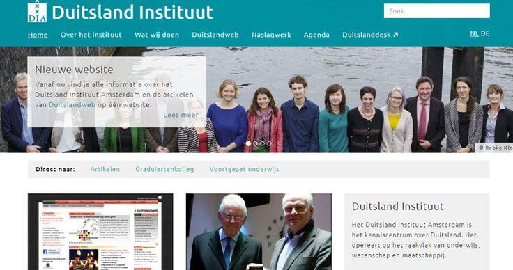 Het Duitsland Instituut Amsterdam is het kenniscentrum over Duitsland. Het opereert op het raakvlak van onderwijs, wetenschap en maatschappij.