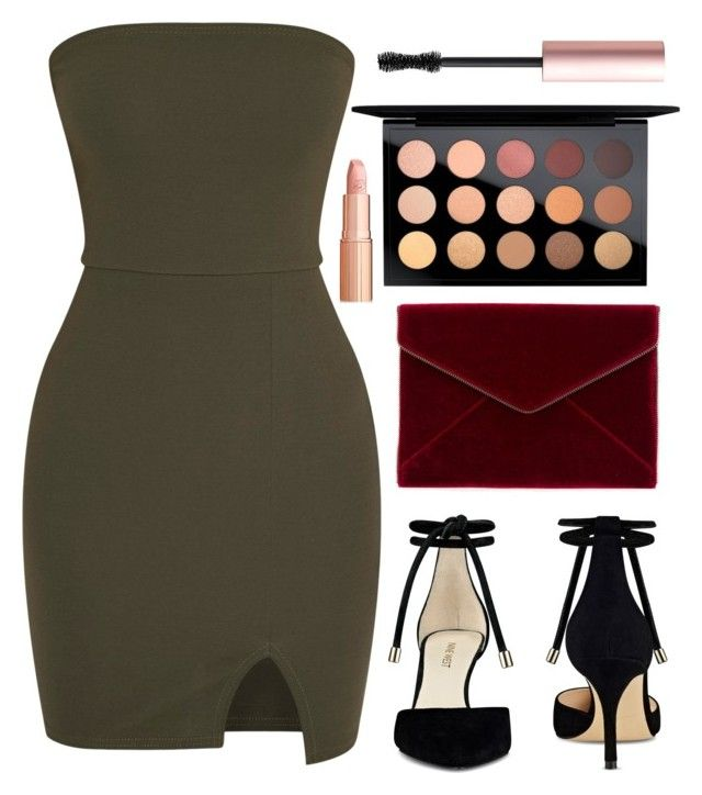"""""""Untitled #32"""" by korareay2 ❤ liked on Polyvore featuring Nine West, Rebecca Minkoff, MAC Cosmetics and Too Faced Cosmetics"""