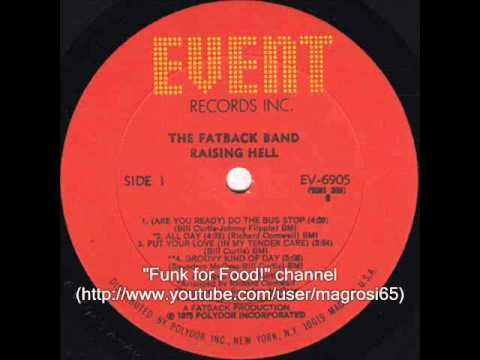 The Fatback Band came to life in New York City in 1970. The group was a blend of jazz funk and soul a