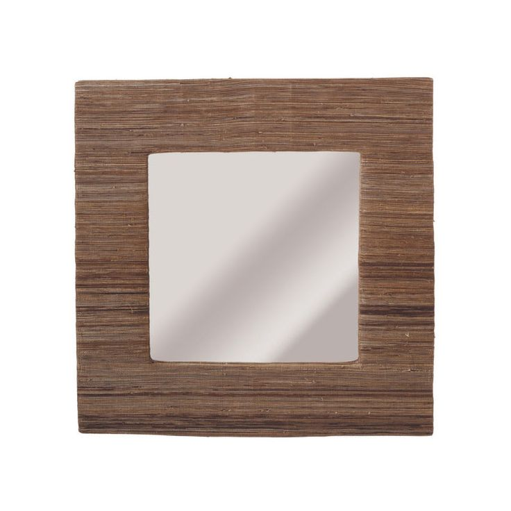 bask in your reflection with the square statement wall
