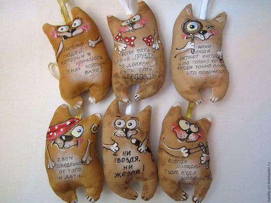Ароматизированные куклы ручной работы. Заказать Кофейные котики. Наталия Крыжановская (natally-art). Ярмарка Мастеров. Кофе-корица