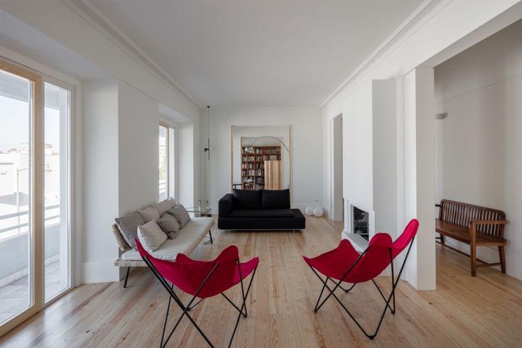 Projecto da autoria de Marco Arraiolos - Apartamento no Alto do Parque, Lisboa