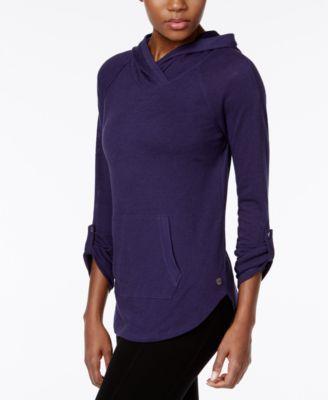 CALVIN KLEIN Calvin Klein Performance Hooded Pullover. #calvinklein #cloth # calvin klein performance