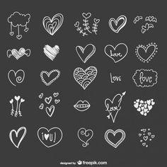 Corações                                                                                                                                                      Mais