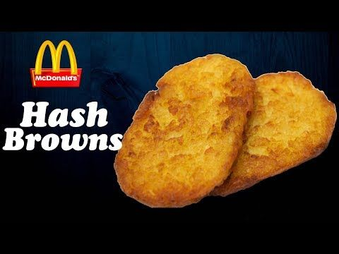 Make Breakfast : Hash Browns like McDonald's at home !! |Crispiest Hash Browns | Simply Yummylicious - YouTube