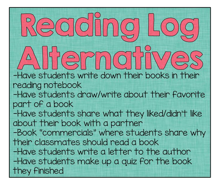 Bon Alternatives To Reading Logs And A Review Of The Book Whisperer