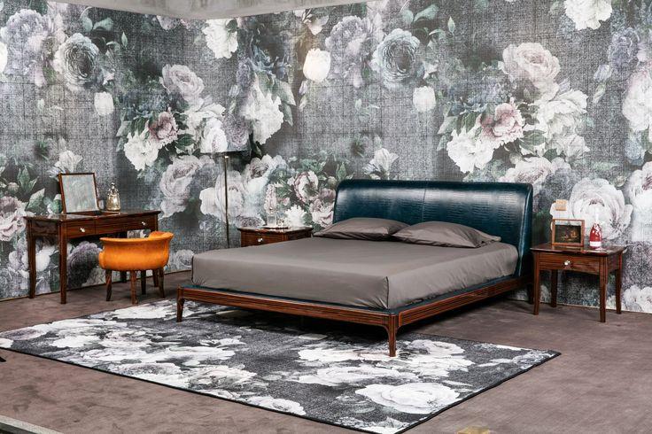 #wallpaper #cartadaparati #bedroom #decor #decoration #homestyling #homedercor #interiordesigner #interiordecorator #archilovers #designlovers #flowers #floral #rustic  #fiammingo #nature