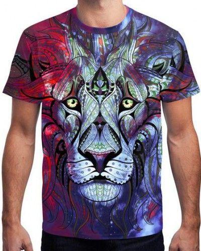 3d lion t shirt