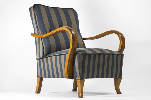 Check out this item in my Etsy shop https://www.etsy.com/listing/180079555/striped-art-deco-armchair-full-restored
