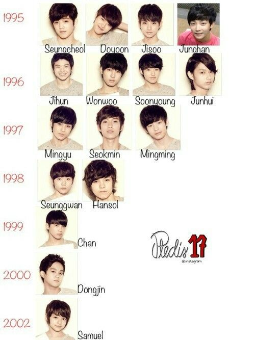 Seventeen members
