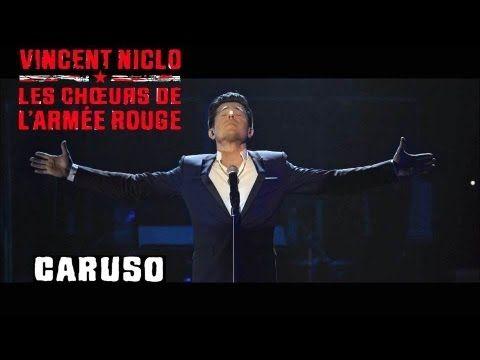 CARUSO   VINCENT NICLO & LES CHOEURS DE L'ARMEE ROUGE (clip officiel)