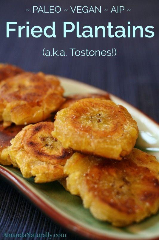 Fried Plantains | gluten-free, paleo, vegan, AIP | AmandaNaturally.com