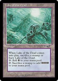 Lake of the Dead from Alliances set of Magic the Gathering