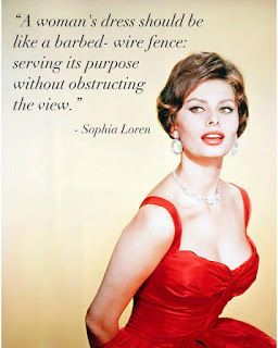 Red dress quotes lies