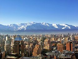 Santiago ,Chile has to be one of the most beautiful places in the world. I was lucky enough to spend a month in this country and I have great memories.