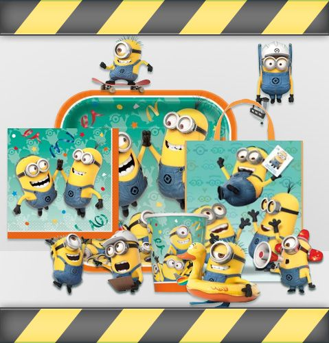 Minions are planning a birthday party!