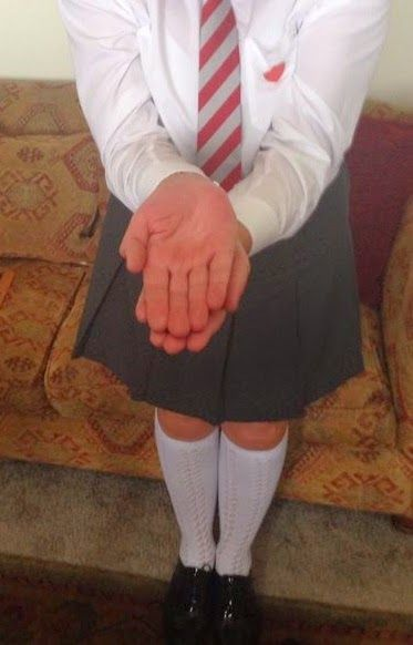 Four girl school corporal punishment - 3 part 10