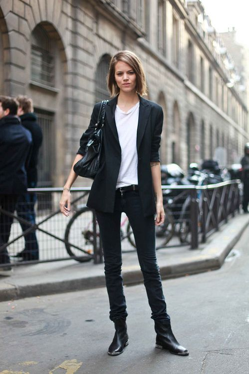 Freja Beha Erichsen. I love her style.
