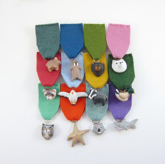 diy animal medals