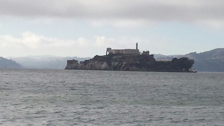 San Francisco, CA, the wharf right near Alcatraz (in the pic)  where they docked the steamer coming down from Sacramento after the big floods that wracked California, and bankrupted it in the 1860's... Check out The Hills of Gold Unchanging for details! :)