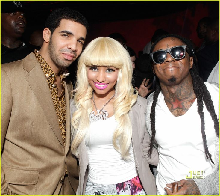 Nicki Minaj and drake | Nicki Minaj: NBPA All-Star Gala! | Drake, Lil' Wayne, Nicki Minaj ...