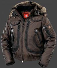 Wellensteyn Rescue Jacket, RainbowAirTec, Coffee/Schwarz, Größe XL