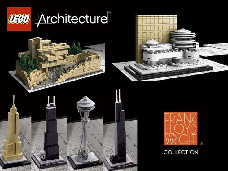 Came across these at Barnes and Noble. The nerd in me wants them all!!!  LEGO Architecture Series By Adam Reed Tucker