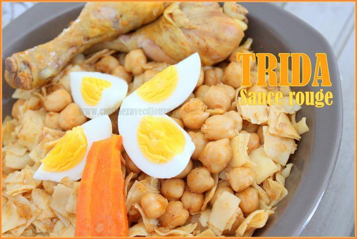 Trida / plat traditionnel algerien