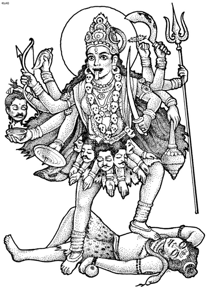 cool hinduism coloring pages adult artistry wolles drawing gets
