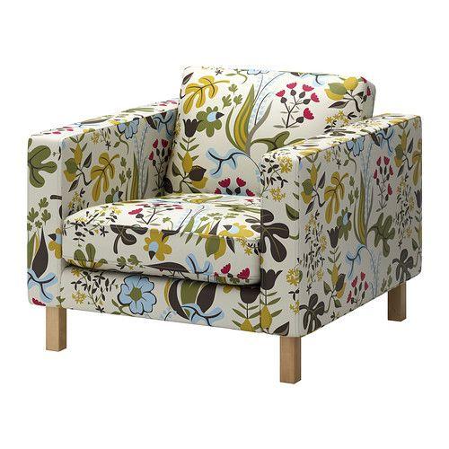 KARLSTAD Lenestol IKEA Et utvalg av koordinerte trekk gjør at du lett kan fornye utseendet på møbelet ditt.