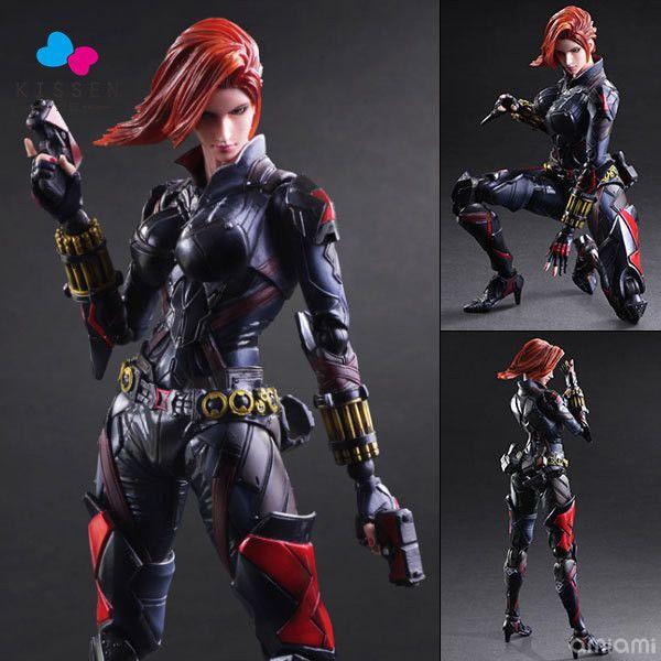 Kissen PlayArts KAI Black Widow PVC Action Figure Collectible Model Toy 27cm //Price: $US $107.87 & FREE Shipping //     #clknetwork