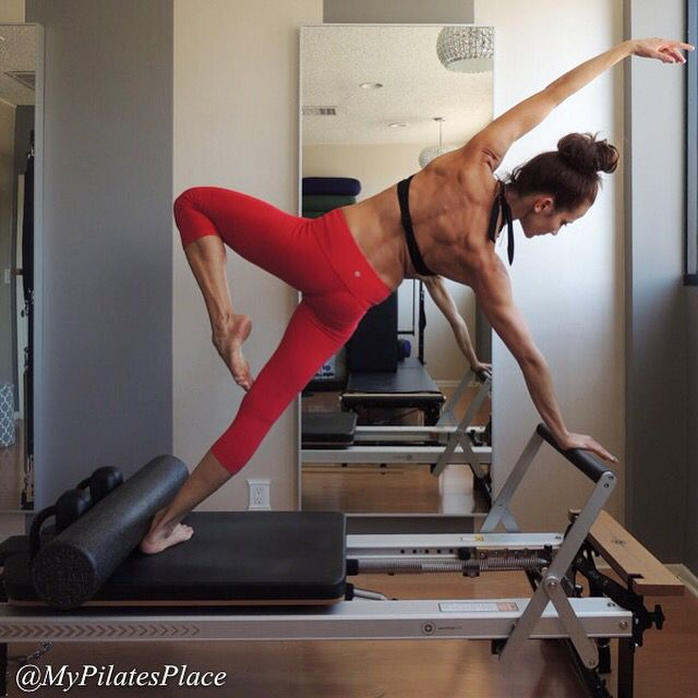 391 Best Reformer Pilates Images On Pinterest