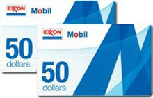 Pricebenders WOW: $50 ExxonMobil Gas Cards (2) (reg. $100) for $6.19! (Could've been YOURS for $6.20!) www.tripleclicks.com/11951278/pbwin