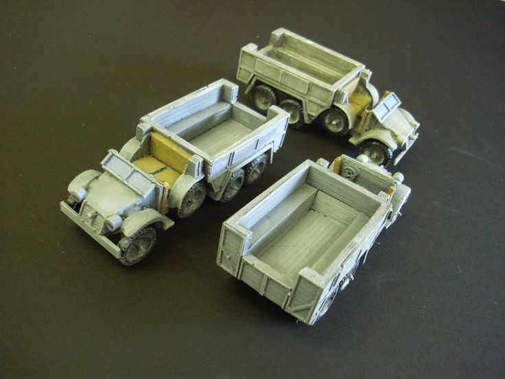 28mm 1/48 scale Krupp Protze truck. New release for June 2015