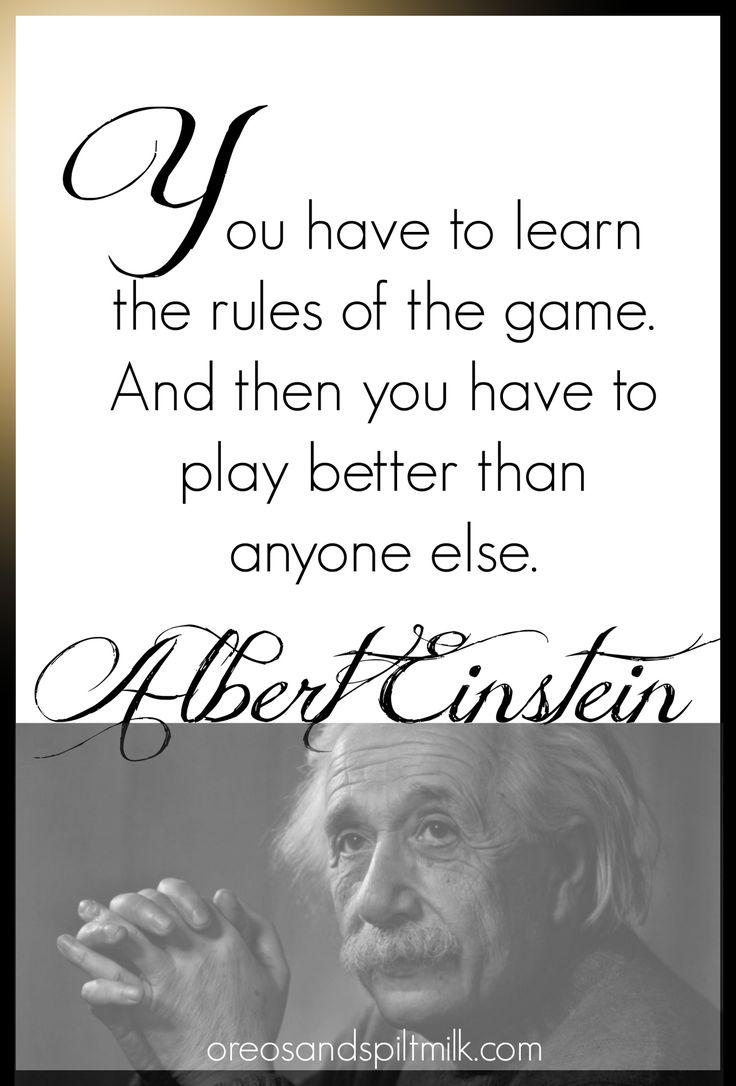 Quotes by Albert Einstein.