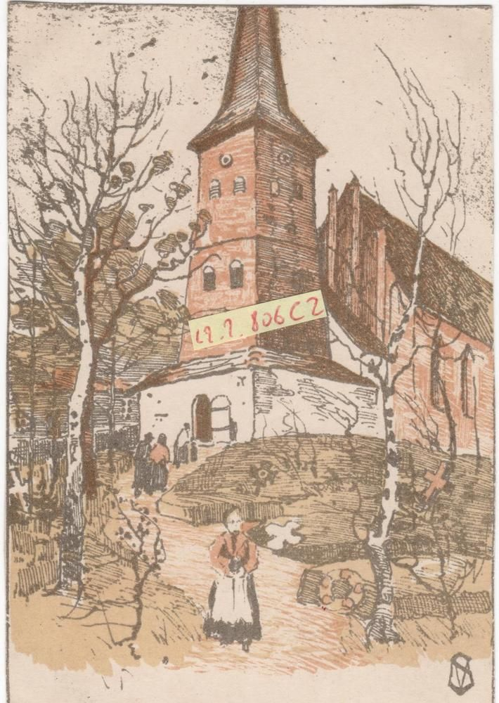 Kunstpostkarte KÖNIGSBERG Ostpreussen Juditten