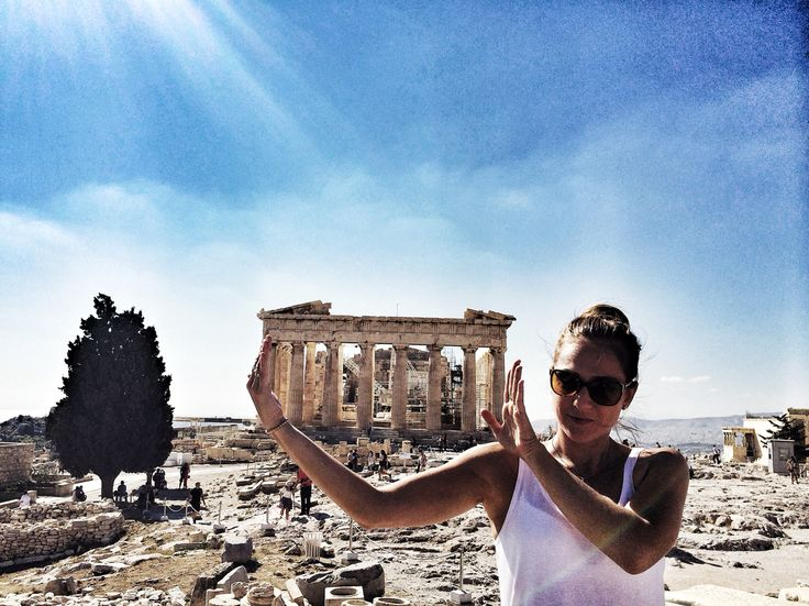 Acrópolis, Partenón, Atenas (Grecia)