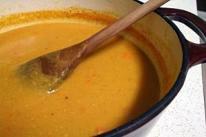 Sopa Lentilha Vermelha