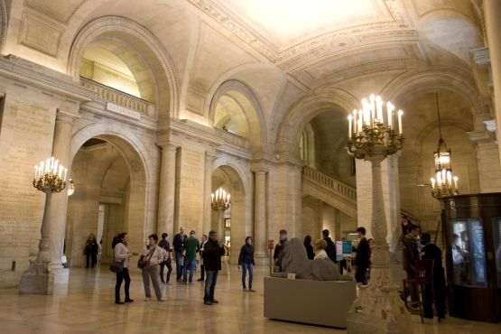 NY public library: Charles Dickens  Stephen A. Schwarzman Building