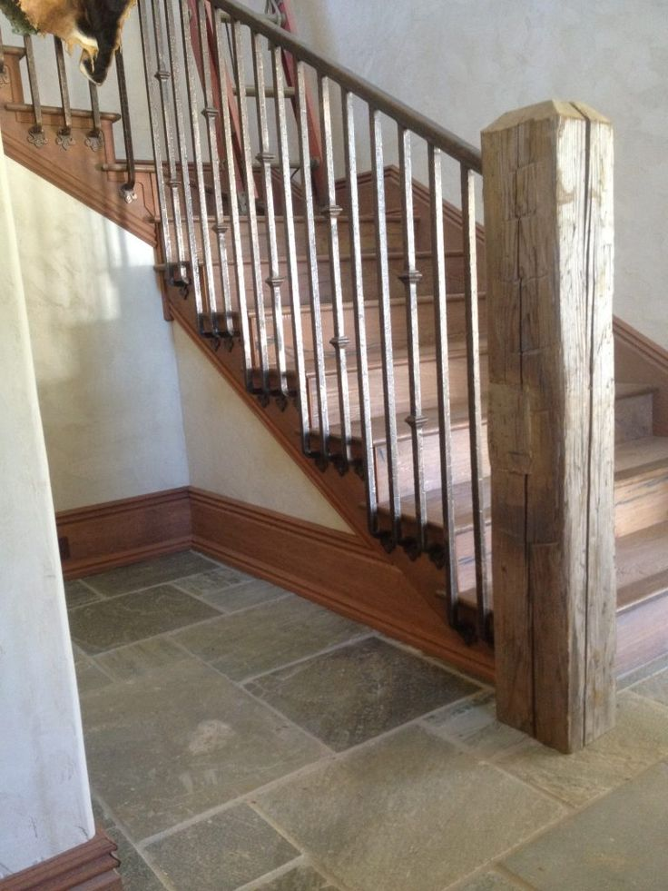 Interior Standard Railing 37 | Interior, Stairs, Iron