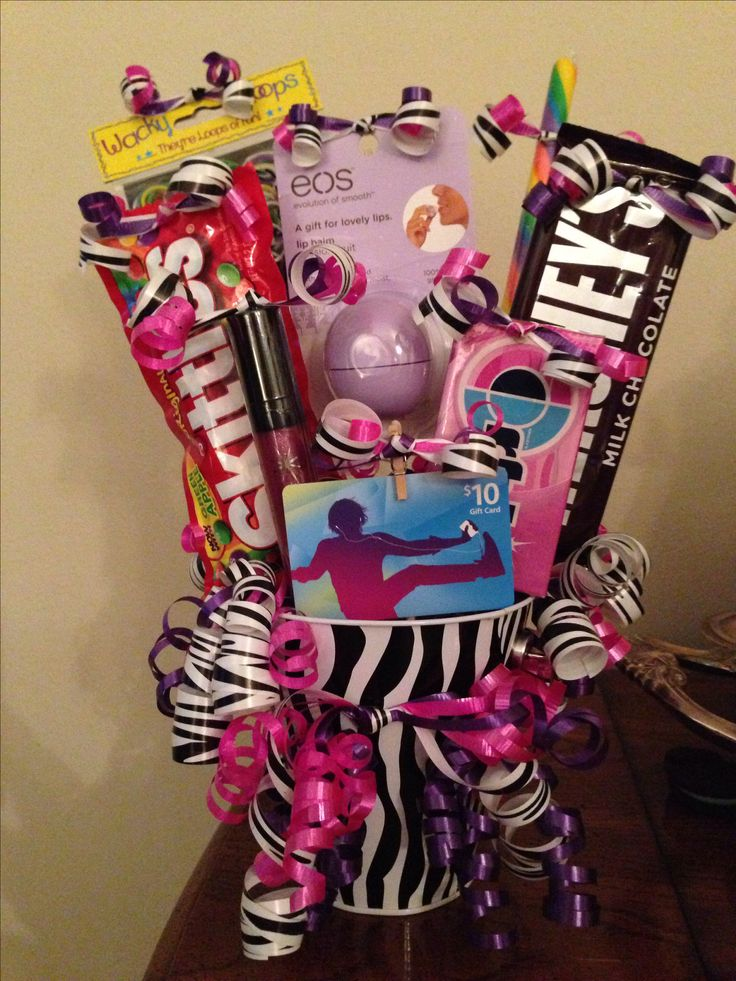 9 year old birthday gift basket My Projects Pinterest