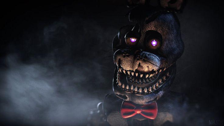 [FNAF4 SFM] Nightmare Bonnie | Wallpaper | HD 1080 by NiksonX on DeviantArt FUCKING AWESOME!